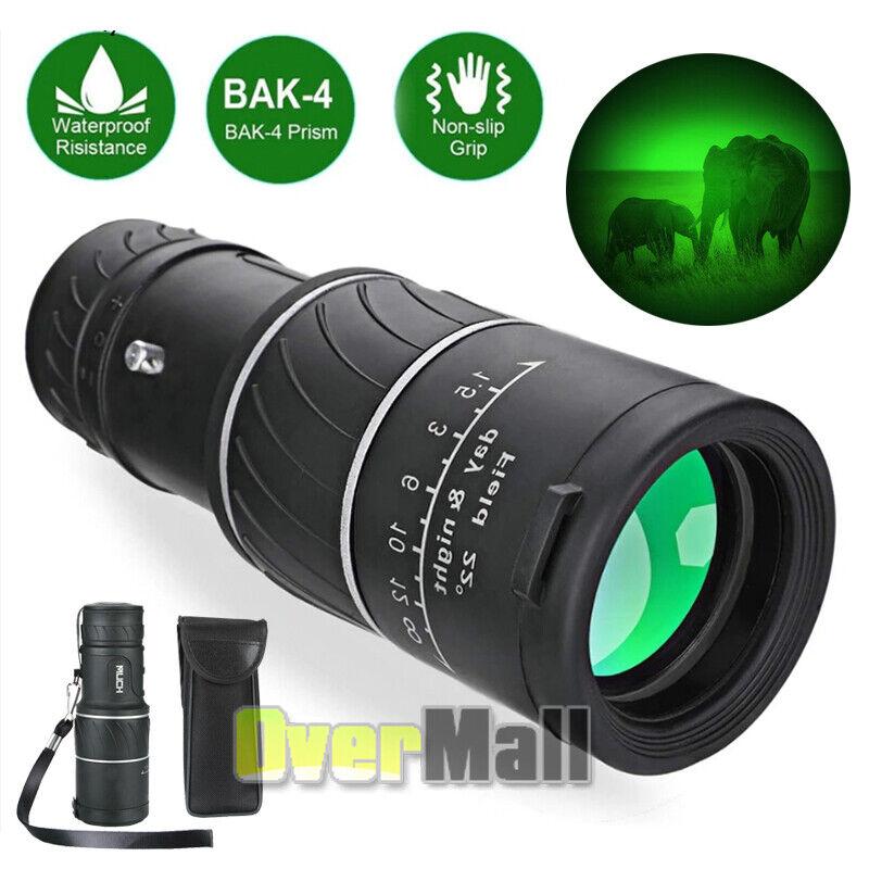 Pro BAK4 Telescope with Night Vision 40X60 Monocular Starscope Spyglass Scope