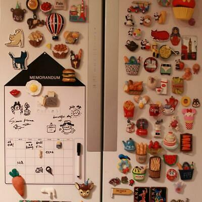 A3 Soft Magnetic Whiteboard Magnet Erase Drawing Board Refrigerator Pen Calendar