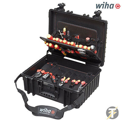 Wiha 80pc Tool Set Electrician Competence Xl 40523 Vde-insulated Screwdriver Kit