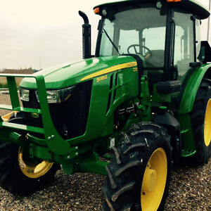 JOHN DEERE 5085E-NEW 85HP UTILITY TRACTOR sales ends oct 28 2016