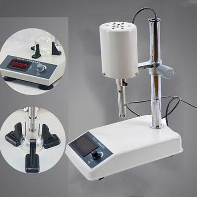 220v 200w Adjustable High-speed Homogenizer Disperser Laboratory Emulsifying New