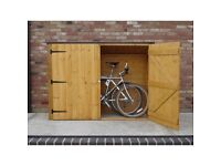 Wanted bike store either wooden or plastic