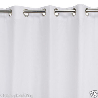 NEW PAIR OF THERMAL EYELET RING TOP BLACKOUT CURTAIN LININGS LINING