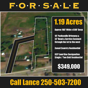 1.19 Prime acres in the North Okanagan - Armstrong BC