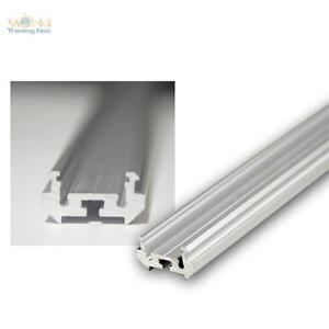1m redondo de aluminio perfil esquina anodizado para tiras - Perfil aluminio anodizado ...