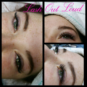 Real hand made volume lash extensions - $75 set