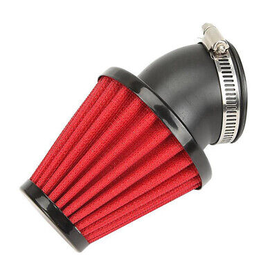 48mm Motorcycle 45 Degree Bend Inlet Air Intake Filter Bend Cone Tuning Cleaner