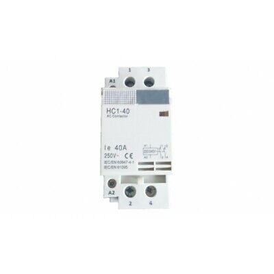 Contactor modular 2p 40 amp
