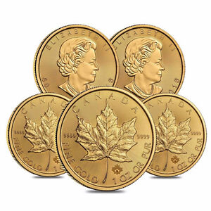 Selling Gold Bullion Gold Coins. Gold Bars. Gold Maples RCM Cornwall Ontario image 1