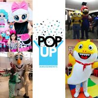 LOCATION MASCOTTE JEUX GONFLABLES BARBE A PAPA POPCORN SNOW CONE