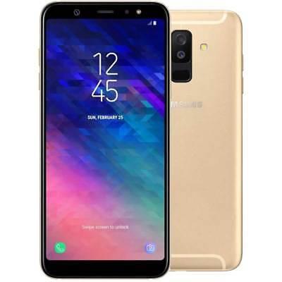 SAMSUNG Galaxy A6 + Plus 2018 32GB Dual SIM gold GARANZIA EU NUOVO