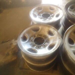 17inch 8hole steel chevy/gmc rims cheap price set of 4