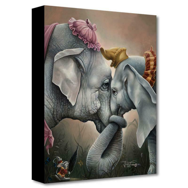"Disney Fine Art ""together At Last"" By Jared Franco Limited Edition Canvas; Coa"
