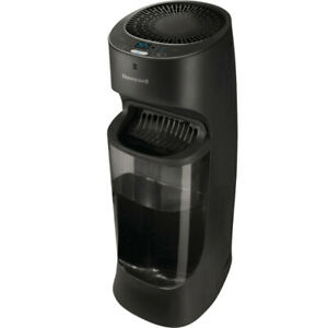 Two Honeywell Top Fill Tower Humidifiers with digital display