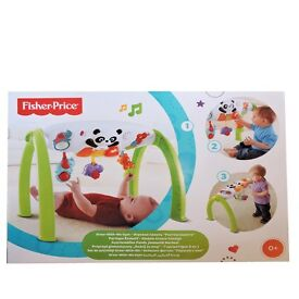 Brand new unopened. Fisher Price baby gym with panda