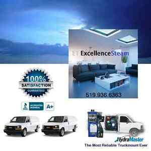 ET EXCELLENCE carpet cleaning service truckmounted. London Ontario image 1