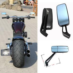 MOTORCYCLE RECTANGLE STEADY REARVIEW MIRRORS 8/10MM FOR HONDA SUZUKI KAWASAKI LM