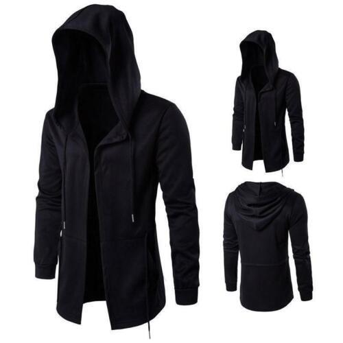 Long Black Hooded Parka