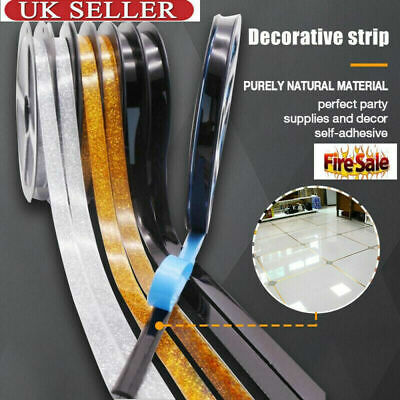 Ceramic Tile Sticker Waterproof Anti-moisture Mildewproof Gap Tape Self-adhesive