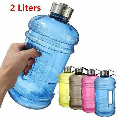 Water Bottles Outdoor Sports Half Gallon Bottles Training Camping Large Capacity