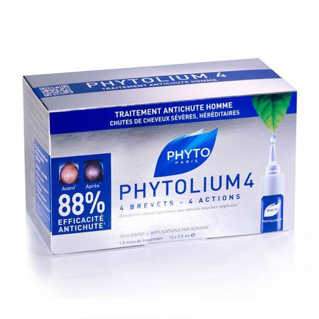 Phyto PhytoLium 4 Chronic Thinning Hair Treatment 12vials*3.5ml