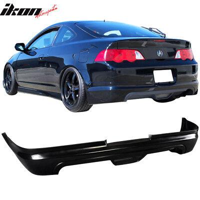 Fits Acura RSX 02-04 2-Door Mugen Style PU Rear Bumper Lip Spoiler Urethane