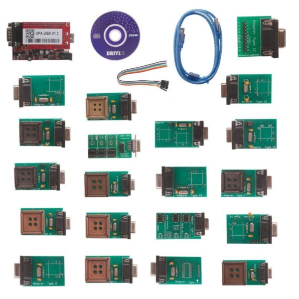 UPA USB Programmer with Full Adaptors*In Stock*