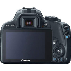 Canon EOS Rebel SL1 Digital SLR with 18-55mm STM + 75-300mm f/4-