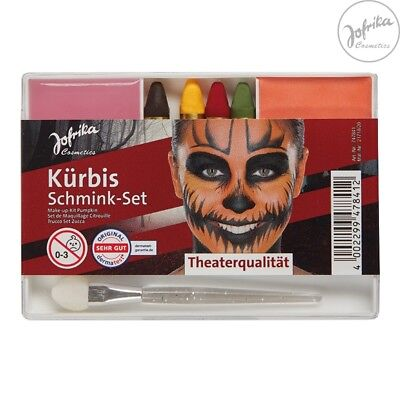 s Make-up Set Theater Jofrika Schminke Stifte Abschminke (Halloween-kürbis-make-up)