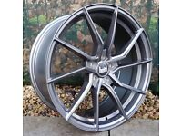"""19"""" Bola B25 Alloys on Tyres 5x108 for Ford Volvo ETC"""