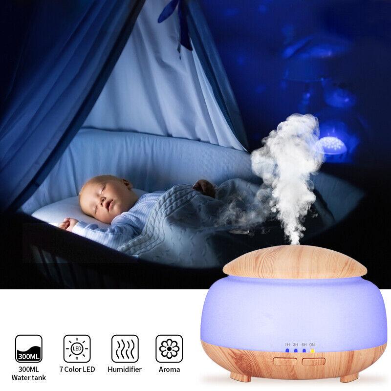 Aromatherapy Aroma Essential Oil Diffuser Quiet Air Humidifi
