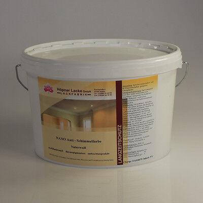 NANO Anti-Schimmelfarbe - 5 l (9,79 EUR/l) - chlorfrei