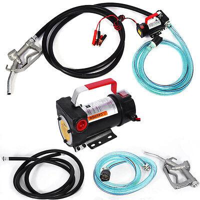 Dieselpumpe Heizölpumpe Kraftstoffpumpe Ölpumpe Fasspumpen Pumpe 12V 40L/min SH1