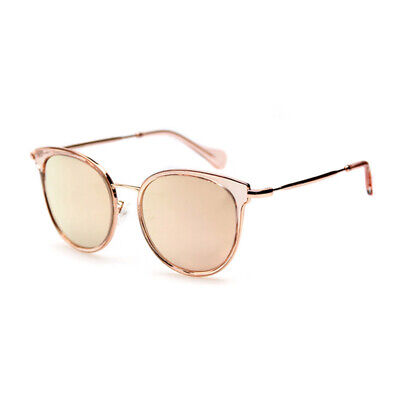 GUESS Asian Fit Damen Cat Eye Sonnenbrille GU4027-K 74C Rose Gold verspiegelt