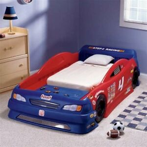 Boys Race Car Bed