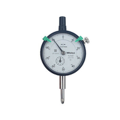 New Mitutoyo 2046s Dial Indicator 0-10mm X 0.01mm Grad New Made In Taiwan 1pcs