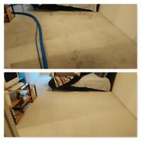 AS LOW AS $59, STEAM CARPET CLEANING +SHAMPOOING + STAIN REMOVAL