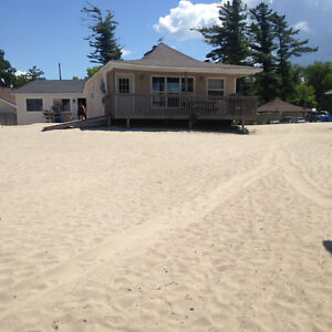 WASAGA BEACH COTTAGES BEACHFRONT AVAIL FOR PROMS