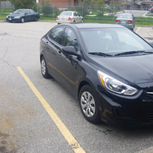 Hyundai Accent 2016. GL. 38500km only. heated seats, bluetooth..