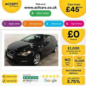 Seat Leon 2.0TDI ( 184ps ) ( s/s ) 2013MY FR FROM £45 PER WEEK!
