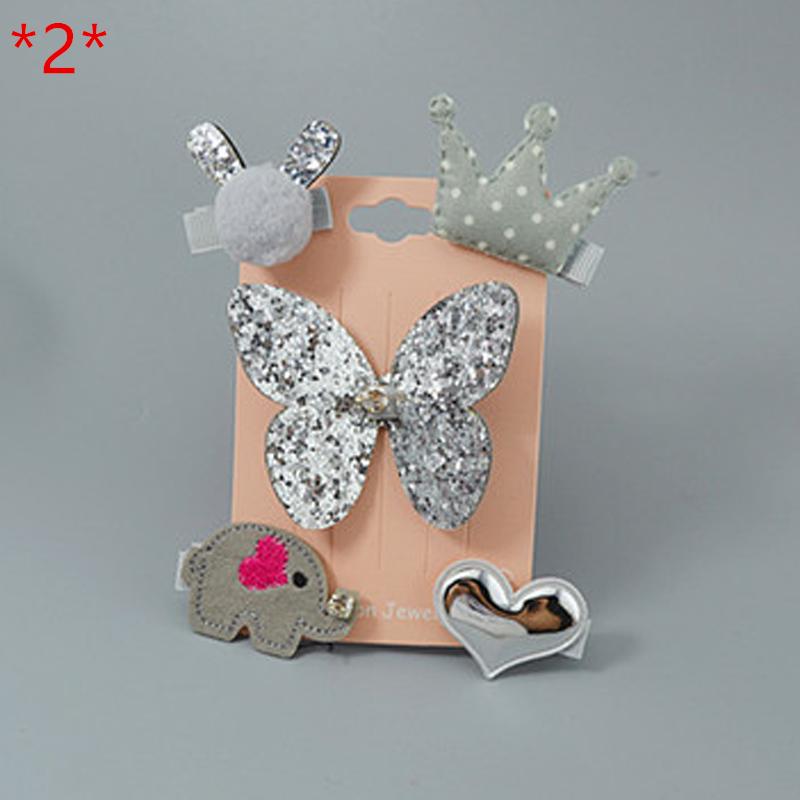 Baby Accessories Princess Girls Hair Clips Cartoon Hairpins Handmade Barrettes