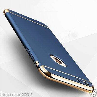 New Electroplate Shockproof ARMOR Hard Back Case Cover for iPhone 6 6S 7 Plus 5s