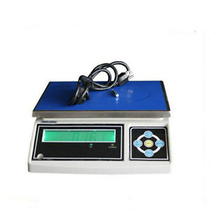Brand new 30kg/66lbs electronic counting/weighing scale