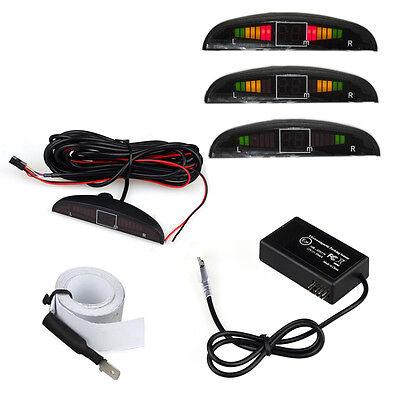 Auto Parking Sensor - Electromagnetic Auto Reversing Car Parking Radar Sensor with Led Buzzer Antenna
