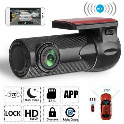 1080P HD WiFi Car DVR Camera Video Dash Cam Recorder Night Vision G-Sensor US