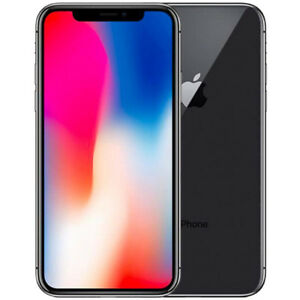 Apple iPhone X 64GB Space Grey Factory Unlocked BRAND NEW!!!