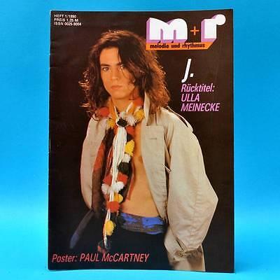 DDR Melodie und Rhythmus 1/1990 McCartney Ulla Meinecke Rio Reiser Carlisle 3