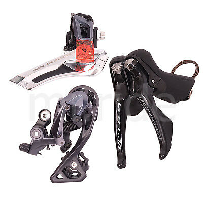 3pc Shimano Ultegra R8000 Group set,Shifter,Derailleur, RD-R8000 GS Mid Cage