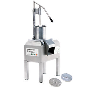 Robot Coupe CL60 Pusher Food Processor - 208/240V, 3 Phase