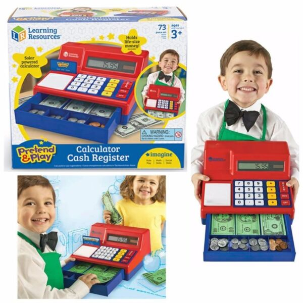 Pretend & play® calculator cash register learning resources®.
